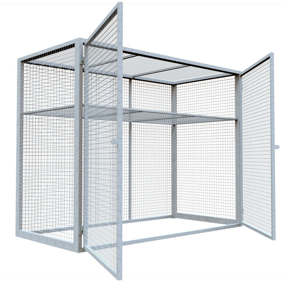 Car Park Storage Cages – Saxon Engineering