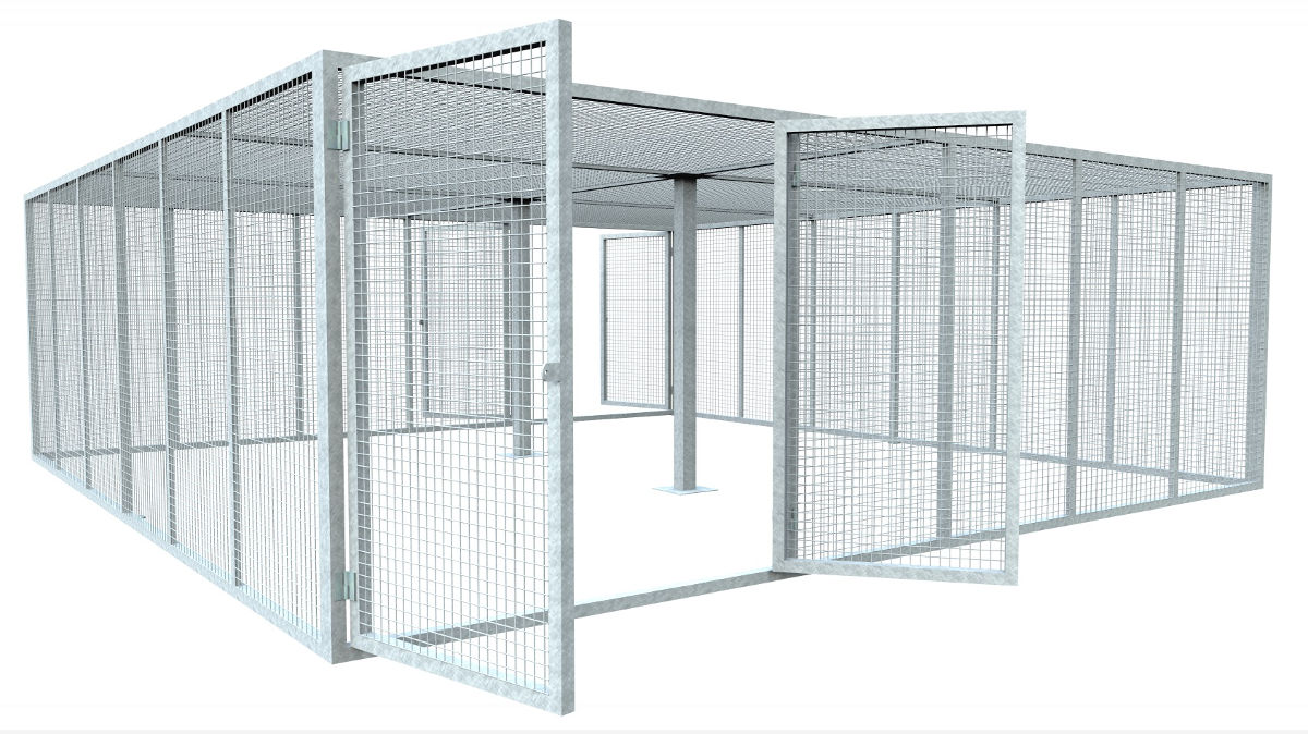 Modular Cage Compounds